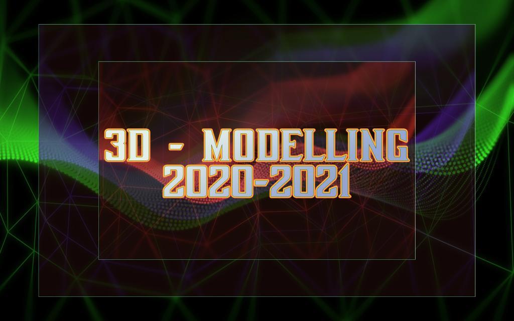 3D - Modelling 2020-2021. Знакомство с AutoCad